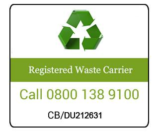 Our licence to clear and transport rubbish